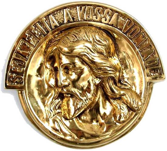Imagem Jesus Cristo - Tamanho Gigante - 32 cm - Bronze Maciço  - BronzeShop