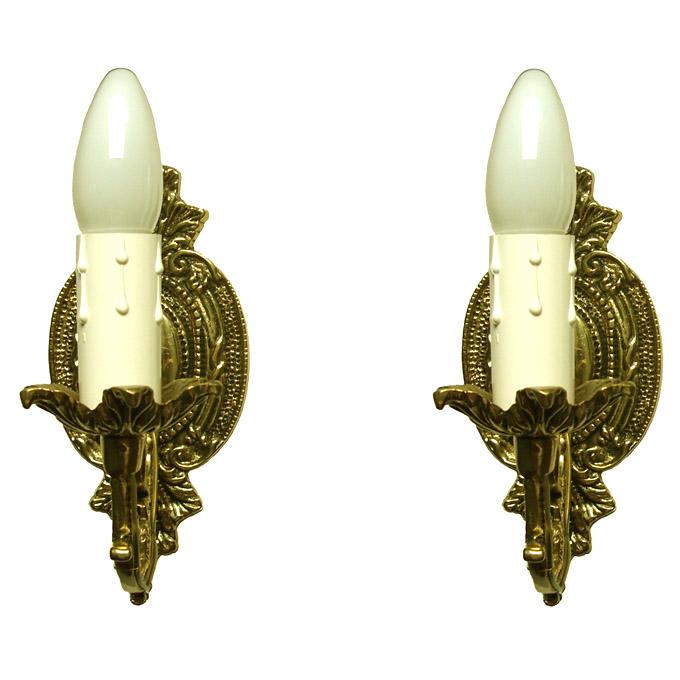 Arandela Castiçal - Bronze Maciço  - BronzeShop