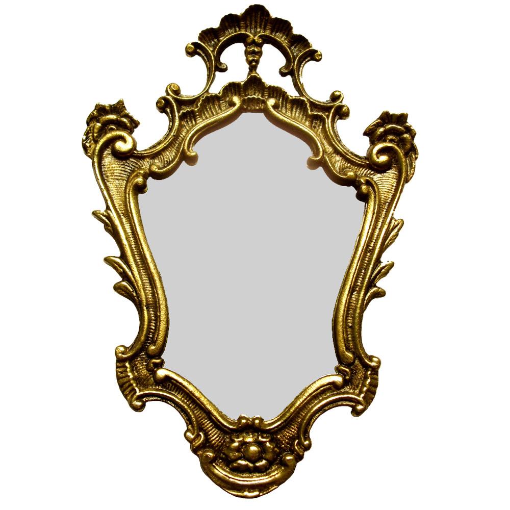 Moldura em Bronze Maciço Para Espelho  Ref: D01  - BronzeShop