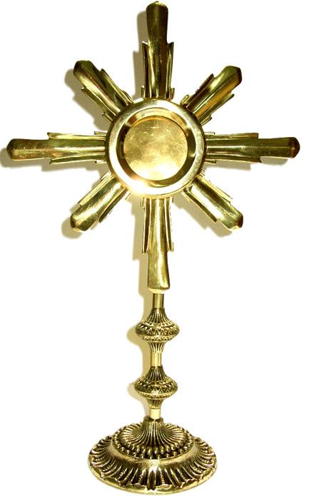 Ostensório - Bronze Maciço  - Bronze Shop