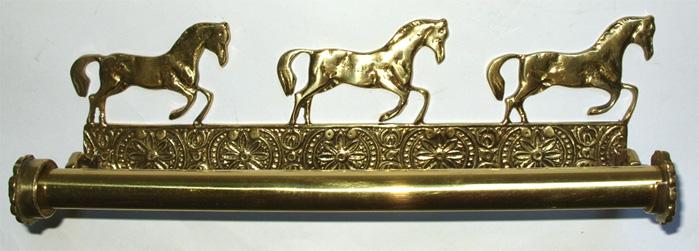 Porta Papel Toalha 3 Cavalos - Bronze  - Bronze Shop