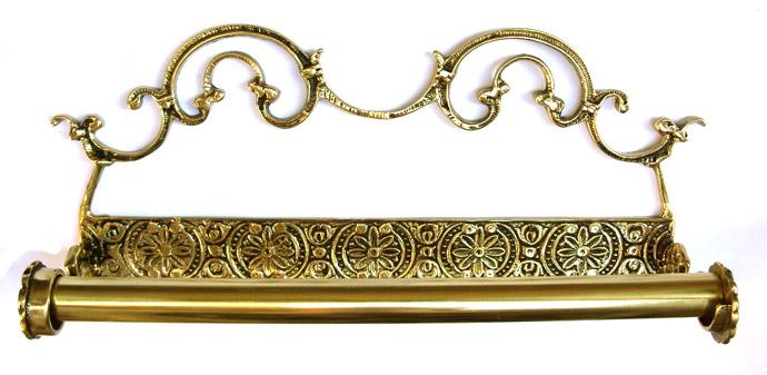 Porta Papel Toalha Trabalhado - Bronze  - Bronze Shop