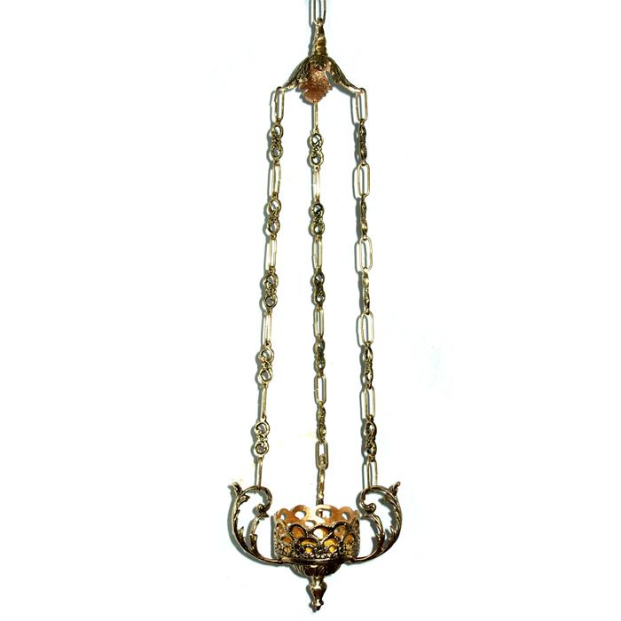 Lamparina com Suporte - Bronze - Ref: 173  - Bronze Shop