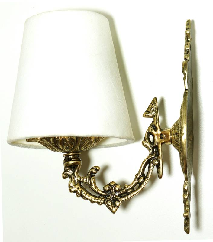 Arandela / Luminária com Cúpula  Igual de Novelas e Filmes  - Bronze Shop