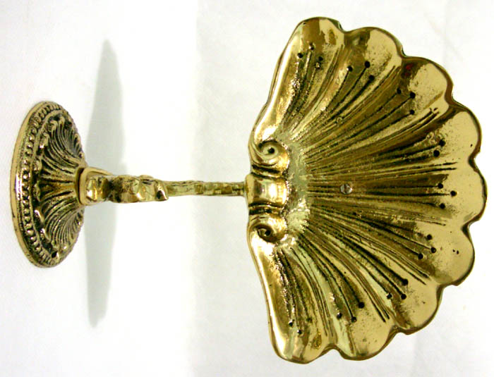 Saboneteira de Parede - Bronze Maciço  - Bronze Shop