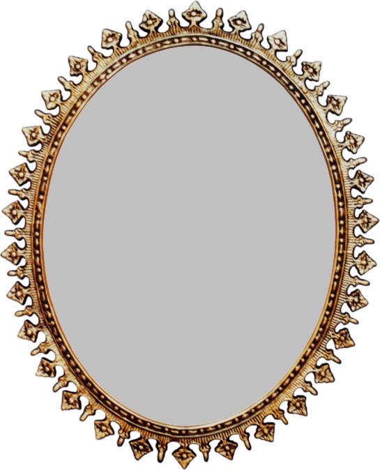 Moldura para Espelho - Bronze - Ref: 082  - BronzeShop