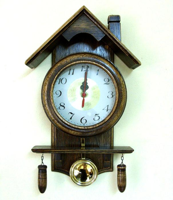 Relógio Casinha  - Bronze Shop