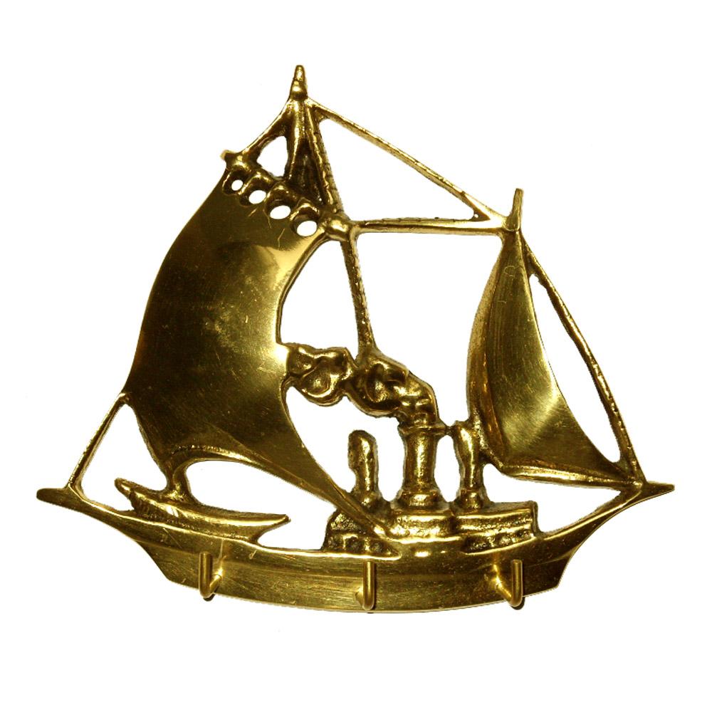 Porta Chaves Barco - Bronze  -   ref: 313  - BronzeShop