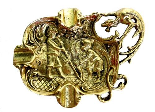 Cinzeiro Dragão - Bronze Maciço  - BronzeShop