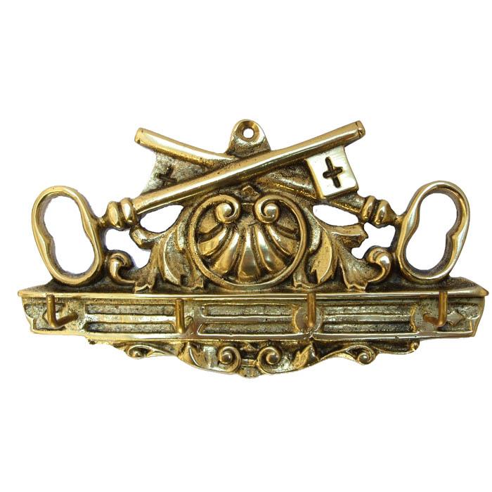 Porta Chaves - Chave Cruzada  - BronzeShop