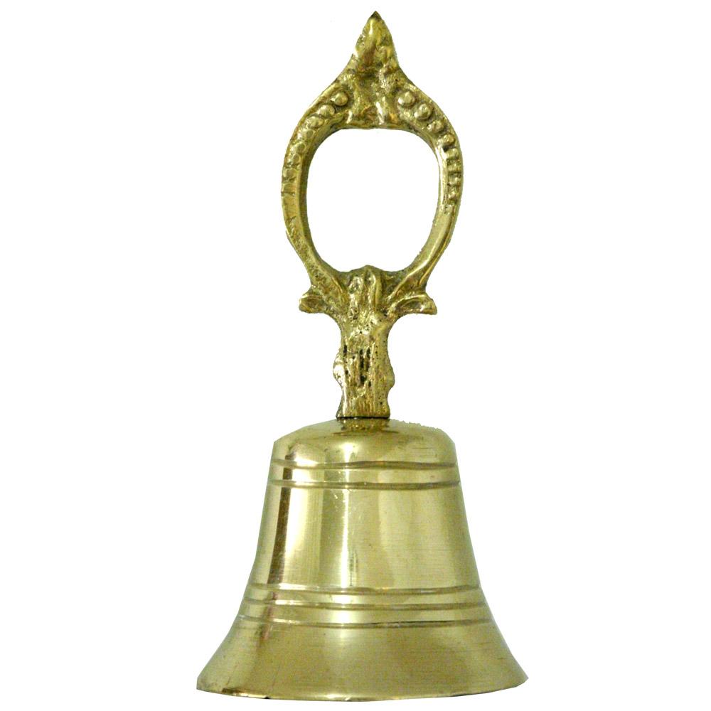 Sineta Sino de Mão - Bronze ref: 770  - Bronze Shop