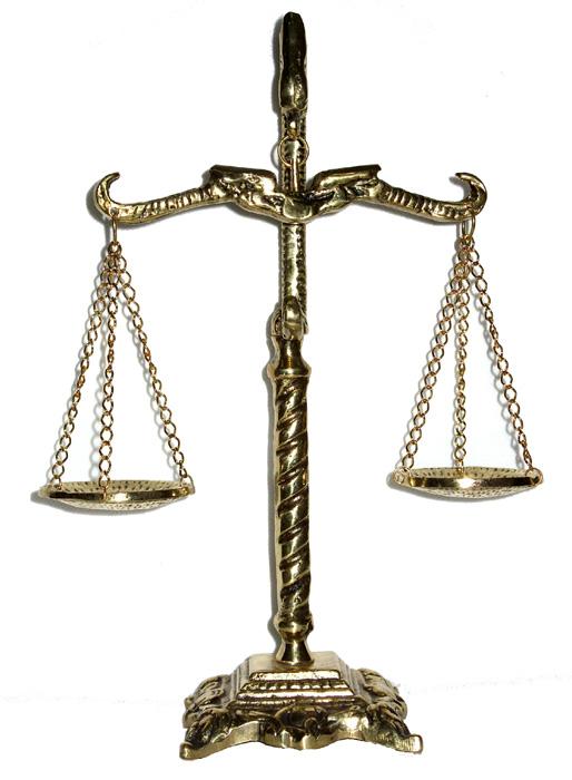 Balança da Justiça - Bronze  - BronzeShop