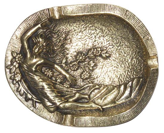 Cinzeiro Dama - Bronze Maciço  - BronzeShop
