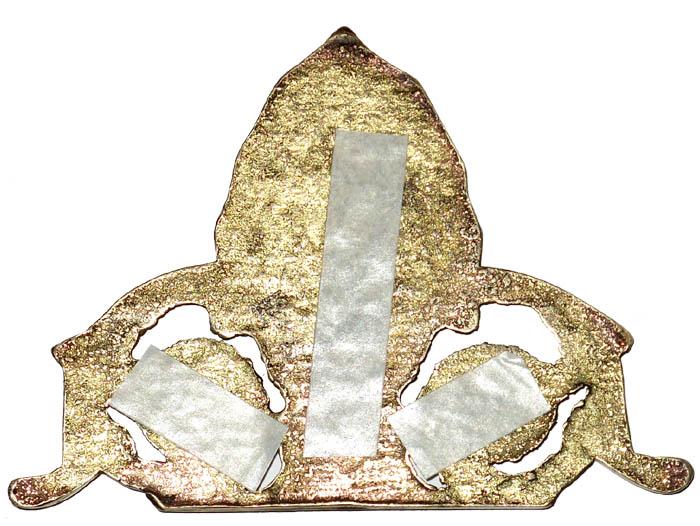 Aplique Decorativo Flor de Lis  - BronzeShop