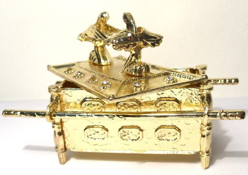 Arca da Aliança Dourada  - BronzeShop