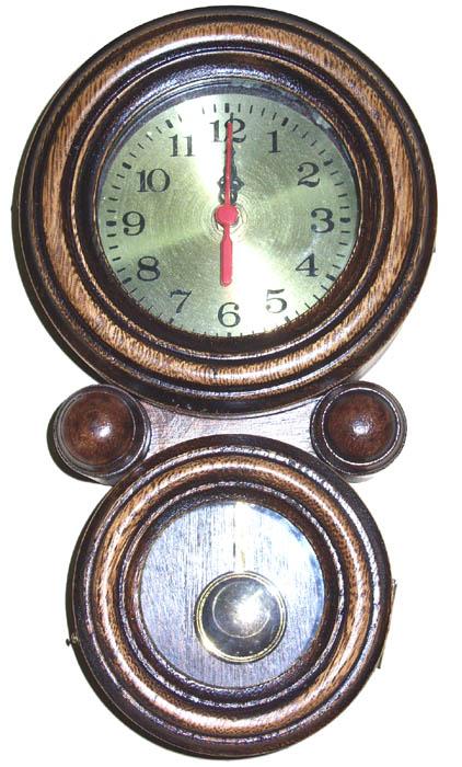 Relógio Oito Grande  - Bronze Shop