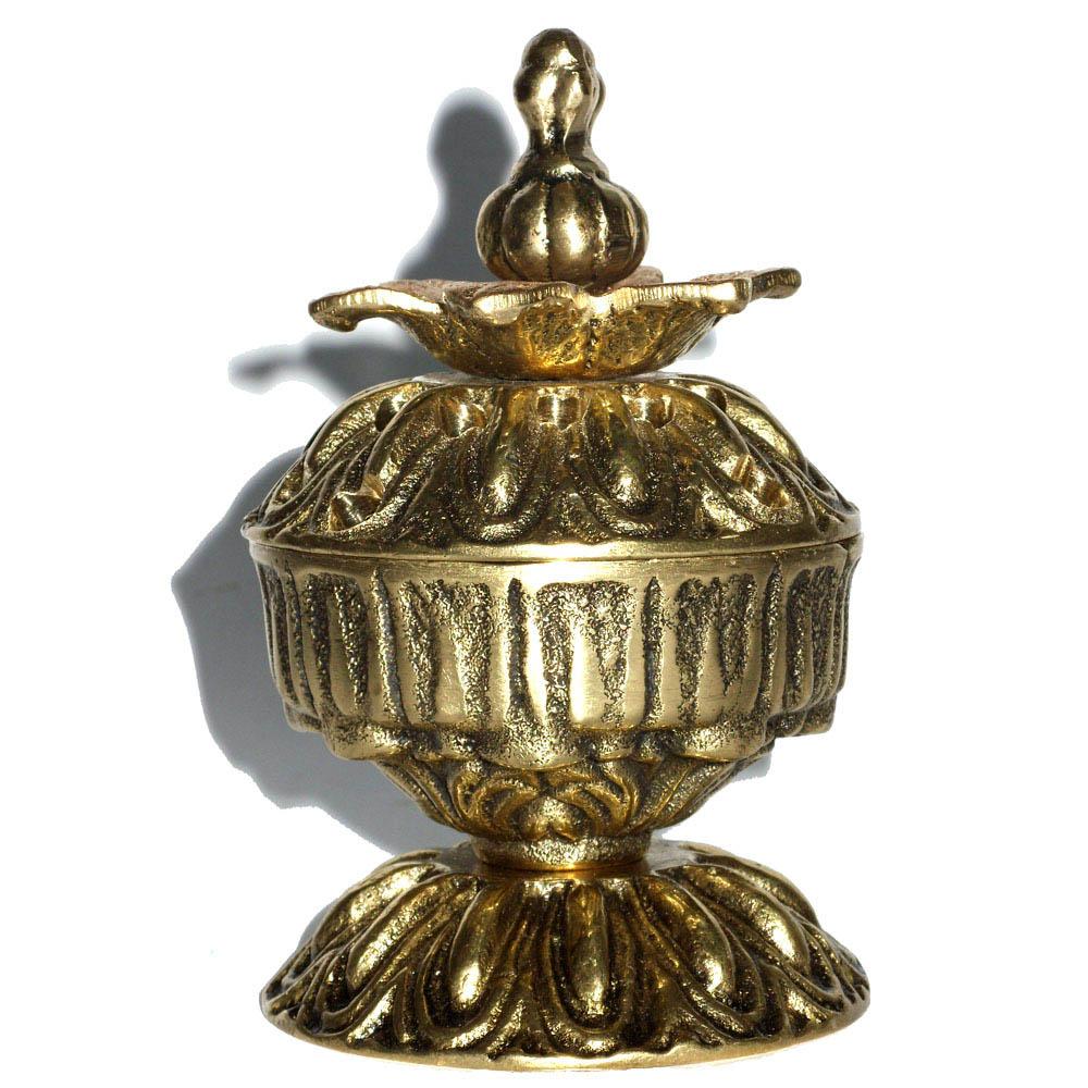 Incensário em Bronze - Porta Incenso  - BronzeShop