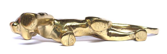 Estátua Tigre em Bronze Maciço  - BronzeShop