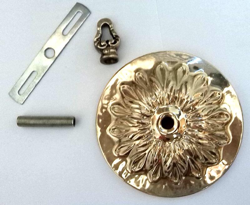Canopla Latão Para Lustres  - BronzeShop