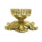 Castiçal - P/ Velas de 7 dias - Bronze  ref: 726