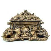 Porta-Joias Elefante em Resina