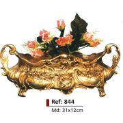 Cachepot Floreira - Bronze Polido Brilhante -   ref:844