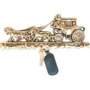 Porta Chaves Carruagem - Bronze  -   ref: 262