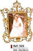 Porta-retrato noiva - Bronze -   ref: 926