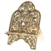 Porta Bíblia Tradicional- Bronze Polido - Rico em Detalhes