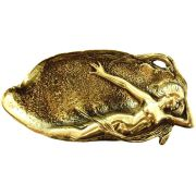 Saboneteira Sereia -  Grande - Bronze Maciço