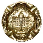 Cinzeiro Roma - Bronze Maciço
