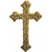 Cruz Trabalhada Grande - Bronze Maciço ref: 110