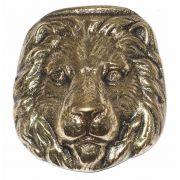 Cara de Leão em Bronze Maciço
