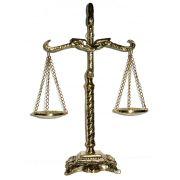 Balança da Justiça - Bronze