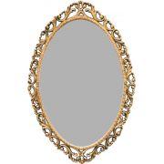Moldura para Espelho Barroco Oval Grande - Bronze
