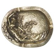 Cinzeiro Dama - Bronze Maciço