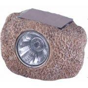 Luminária Pedra com Painel Solar Led