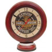 Relógio Bomba de Combustível Harley Davidson