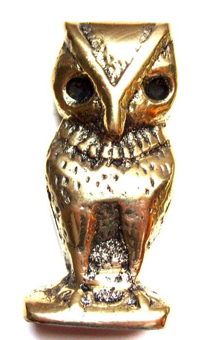 Coruja em Bronze Maciço  - Bronze Shop