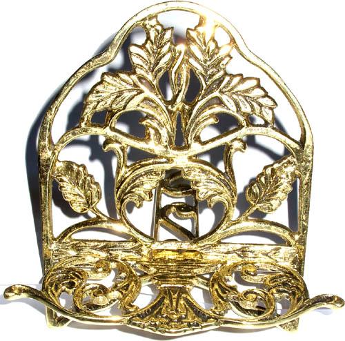 Porta-Biblia Pequeno - Bronze Maciço  - BronzeShop