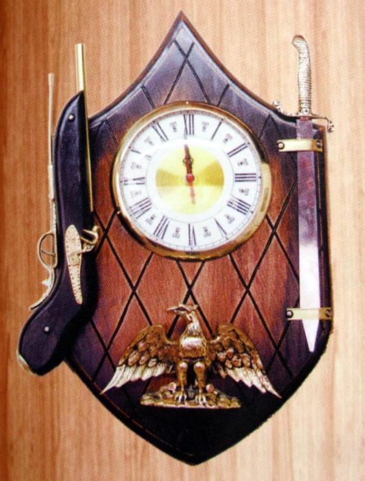 Relógio Aguia  - Bronze Shop