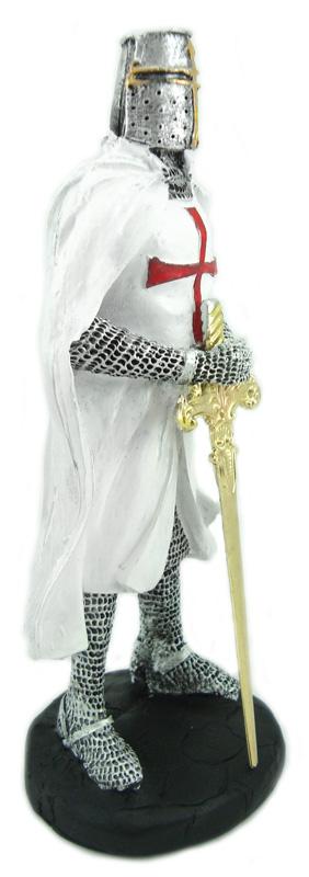 Estátua Cavaleiro Templário Resina  - Bronze Shop