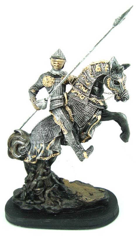Cavaleiro Medieval com Lança  - Bronze Shop