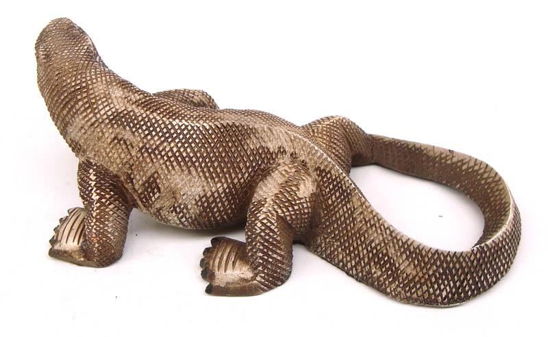 Dragão de Komodo em Resina  - Bronze Shop