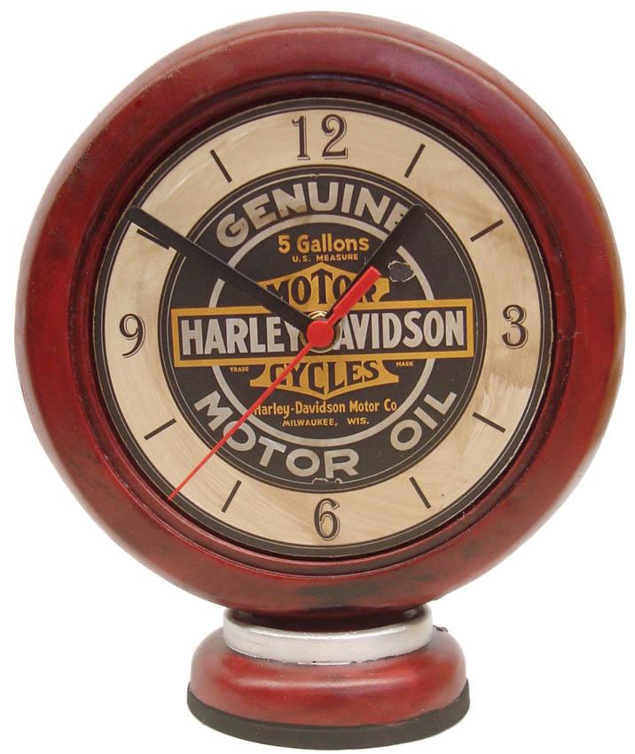 Relógio Bomba de Combustível Harley Davidson  - Bronze Shop