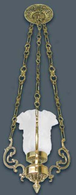 Lustre Lampião Turibulo em Bronze Cod 161  - Bronze Shop