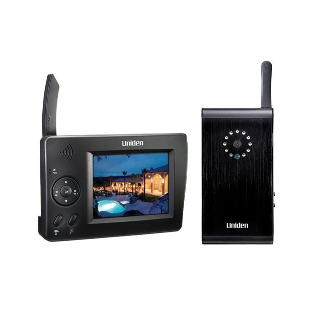 Câmera Sem Fio Uniden UDW10003 com Monitor Portátil Colorido e Microfone - cod. 15829