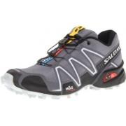 Salomon Mens Speedcross 3 Climashield Trail Running Shoe Speedcross 3 127609 - Dark Cloud/Black/Ligh