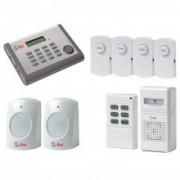 Q-See QSDL503AD Wireless Home Security Kit Sistema de Alarme - Frete Gr�tis