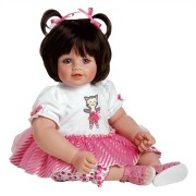 Boneca Adora Baby Doll 20� Purr-fectly Posh (Dark Brown Hair/Blue Eyes)- Frete Gr�tis